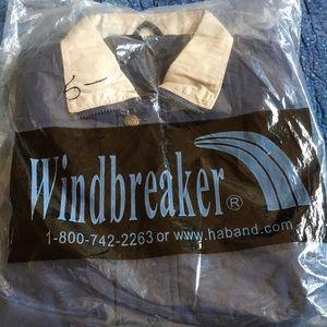 NIP VTG windbreaker Haband small
